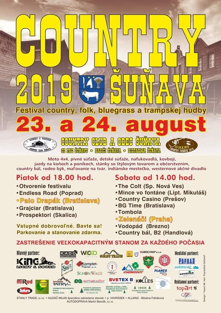 Country Šuňava 2019